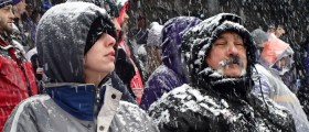 Ravens Snow Game-Sunday by Tyrone Eaton