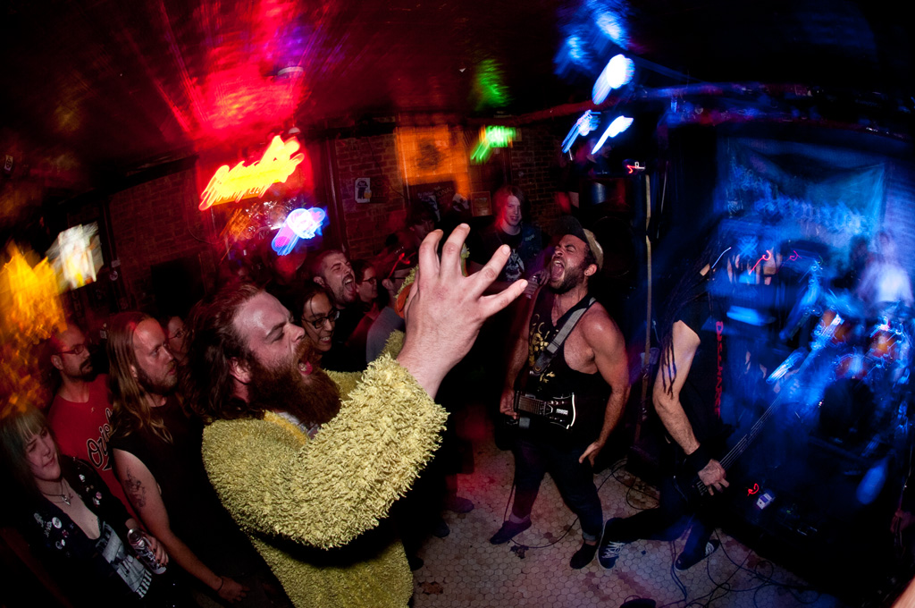 Long Live Local Metal (photo of LA ARMADA at The Sidebar; taken by photographer Brendan Fieldhouse)