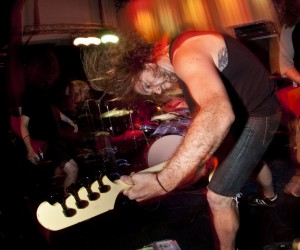 Inter Arma at Metro Gallery. Photo by Brendan Fieldhouse